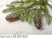 Купить «New Year and Christmas background», фото № 29397621, снято 3 ноября 2018 г. (c) Мельников Дмитрий / Фотобанк Лори