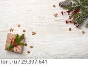 Купить «New Year and Christmas background», фото № 29397641, снято 4 ноября 2018 г. (c) Мельников Дмитрий / Фотобанк Лори