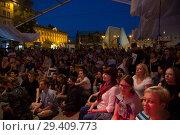 Купить «Poznan, Poland, concert at the Malta Festival Poznan», фото № 29409773, снято 20 июня 2018 г. (c) Caro Photoagency / Фотобанк Лори