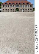 Купить «Bavaria, Germany - concentration camp memorial Flossenbuerg, SS commandant's office», фото № 29410177, снято 5 мая 2018 г. (c) Caro Photoagency / Фотобанк Лори