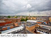 Купить «Oxford skyline as seen from the top of Carfax Tower. Oxford University. England», фото № 29410821, снято 15 мая 2009 г. (c) Serg Zastavkin / Фотобанк Лори