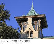 Купить «Georgia, Tbilisi, Shota Rustaveli Avenue, typical architecture detail,.», фото № 29418893, снято 29 сентября 2018 г. (c) age Fotostock / Фотобанк Лори