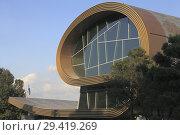 Купить «Azerbaijan, Baku, Carpet Museum,.», фото № 29419269, снято 24 сентября 2018 г. (c) age Fotostock / Фотобанк Лори