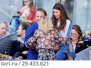 Купить «Eugenia Martinez de Irujo attends the Mutua Madrid Open Tennis Tournament at the Caja Magica - Day 6 Featuring: Eugenia Martinez de Irujo Where: Madrid...», фото № 29433621, снято 10 мая 2018 г. (c) age Fotostock / Фотобанк Лори