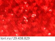 Купить «Red heart bokeh background», фото № 29438829, снято 28 ноября 2013 г. (c) Иван Михайлов / Фотобанк Лори