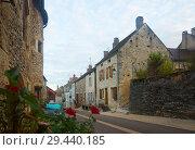 Купить «Image of Bligny-sur-Ouche city historical streets and building», фото № 29440185, снято 12 октября 2018 г. (c) Яков Филимонов / Фотобанк Лори