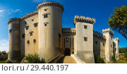 Купить «Chateau de Tarascon, France», фото № 29440197, снято 16 января 2019 г. (c) Яков Филимонов / Фотобанк Лори