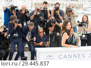 Купить «71st annual Cannes Film Festival - Un Certain Regard - Jury Photocall Featuring: Virginie Ledoyen Where: Cannes, France When: 09 May 2018 Credit: Euan Cherry/WENN.», фото № 29445837, снято 9 мая 2018 г. (c) age Fotostock / Фотобанк Лори