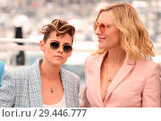 Купить «71st annual Cannes Film Festival - Jury - Photocall Featuring: Cate Blanchett, Kristen Stewart Where: Cannes, Alpes-Maritimes, France When: 08 May 2018 Credit: JRP/Cover Images», фото № 29446777, снято 8 мая 2018 г. (c) age Fotostock / Фотобанк Лори