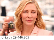 Купить «71st annual Cannes Film Festival - Jury - Photocall Featuring: Cate Blanchett Where: Cannes, Alpes-Maritimes, France When: 08 May 2018 Credit: JRP/Cover Images», фото № 29446805, снято 8 мая 2018 г. (c) age Fotostock / Фотобанк Лори