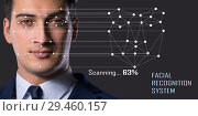 Купить «Concept of face recognition software and hardware», фото № 29460157, снято 20 сентября 2019 г. (c) Elnur / Фотобанк Лори