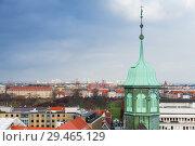 Купить «Copenhagen, spire of Trinitatis Church», фото № 29465129, снято 10 декабря 2017 г. (c) EugeneSergeev / Фотобанк Лори