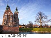 Купить «Cityscape of Copenhagen, Denmark», фото № 29465141, снято 10 декабря 2017 г. (c) EugeneSergeev / Фотобанк Лори