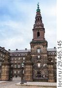 Купить «Christiansborg Palace, Copenhagen», фото № 29465145, снято 10 декабря 2017 г. (c) EugeneSergeev / Фотобанк Лори