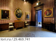 Купить «Palazzo Morando Museum in Milan, Italy, houses the Milan Museum and the Costume Fashion Collection. Featuring: atmosphere Where: Milan, Lombardy, Italy...», фото № 29469741, снято 30 апреля 2018 г. (c) age Fotostock / Фотобанк Лори