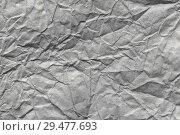 Купить «Paper texture background, crumpled paper texture background. Paper textures», фото № 29477693, снято 13 августа 2018 г. (c) Евгений Глазунов / Фотобанк Лори