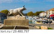 Купить «View of Beaucaire, France», фото № 29480797, снято 13 октября 2018 г. (c) Яков Филимонов / Фотобанк Лори