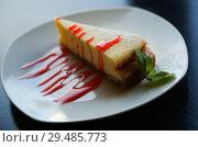 Купить «classic cheesecake», фото № 29485773, снято 24 марта 2019 г. (c) Яков Филимонов / Фотобанк Лори