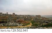 Panorama of abandoned city Serjilla,Syria (2011 год). Стоковое фото, фотограф Сергей Майоров / Фотобанк Лори
