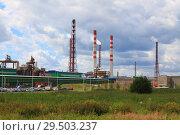 Завод Аммофос, Череповец. Стоковое фото, фотограф Дмитрий Воробьев / Фотобанк Лори