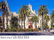 Купить «Малага. Испания. Здание мэрии.», фото № 29503553, снято 2 декабря 2012 г. (c) Галина Савина / Фотобанк Лори