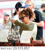 Купить «Carrie Ann Inaba goes to the Farmers Markey with family and friends Featuring: Carrie Ann Inaba Where: Los Angeles, California, United States When: 15 Apr 2018 Credit: WENN.com», фото № 29515857, снято 15 апреля 2018 г. (c) age Fotostock / Фотобанк Лори