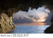 Купить «Grottos at coast», фото № 29523317, снято 19 сентября 2019 г. (c) Яков Филимонов / Фотобанк Лори