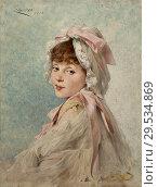 Купить «Chartran Théobald - Portrait of Gabrielle Réjane as a Young Actress.», фото № 29534869, снято 11 декабря 2018 г. (c) age Fotostock / Фотобанк Лори