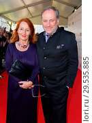 Купить «'Goldene Sonne 2018' award by sonnenklar.TV at Wunderland. Featuring: Harold Faltermeyer mit Freundin Birgit Wolff Where: Kalkar, Germany When: 07 Apr 2018 Credit: WENN.com», фото № 29535885, снято 7 апреля 2018 г. (c) age Fotostock / Фотобанк Лори