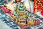 Купить «Azerbaijan old style hats on a local market», фото № 29536685, снято 22 марта 2018 г. (c) Дмитрий Травников / Фотобанк Лори