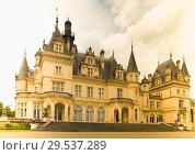 Купить «Montrejeau castle of Valmirande in France», фото № 29537289, снято 12 мая 2017 г. (c) Яков Филимонов / Фотобанк Лори
