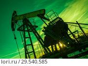 Купить «Oil pump», фото № 29540585, снято 25 октября 2016 г. (c) bashta / Фотобанк Лори