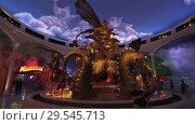 Купить «Territory of the amusement DreamWorks in Motiongate at Dubai Parks and Resorts», фото № 29545713, снято 1 апреля 2018 г. (c) Юлия Машкова / Фотобанк Лори