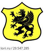 Купить «Герб этнической территории Кашубия. Польша», иллюстрация № 29547285 (c) Владимир Макеев / Фотобанк Лори