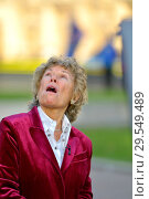 Купить «Kate Hoey MP (Labour: Vauxhall) being interviewed on College Green, Westminster, November 2018.», фото № 29549489, снято 14 ноября 2018 г. (c) age Fotostock / Фотобанк Лори