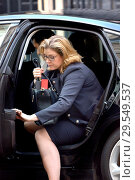 Купить «Penny Mordaunt MP (Secretary of State for International Development, Minister for Women and Equalities) arriving in Downing Street, London, UK, 13/11/2018.», фото № 29549537, снято 13 ноября 2018 г. (c) age Fotostock / Фотобанк Лори