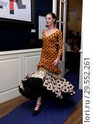 Купить «Flamenco Fashion Show 2018 - Ole You - Catwalk Featuring: Model Where: Madrid, Spain When: 04 Apr 2018 Credit: Oscar Gonzalez/WENN.com», фото № 29552261, снято 4 апреля 2018 г. (c) age Fotostock / Фотобанк Лори