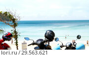 Купить «Nai Harn beach, south of Phuket Island», видеоролик № 29563621, снято 7 декабря 2018 г. (c) Игорь Жоров / Фотобанк Лори