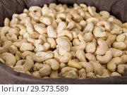 Купить «Photo of mix cashew», фото № 29573589, снято 4 сентября 2017 г. (c) Яков Филимонов / Фотобанк Лори