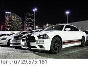 Купить «Dodge Charger», фото № 29575181, снято 15 ноября 2018 г. (c) Art Konovalov / Фотобанк Лори