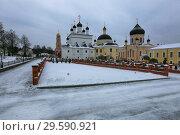Купить «Moscow region, Russia, Voznesenskaya David's Pustyn Monastery», фото № 29590921, снято 3 декабря 2018 г. (c) Яна Королёва / Фотобанк Лори