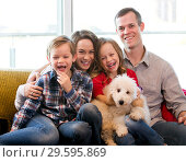 Купить «Family members spending quality time together», фото № 29595869, снято 5 июля 2020 г. (c) Яков Филимонов / Фотобанк Лори