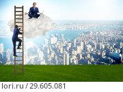 Купить «The concept of mentorship in business and career progression», фото № 29605081, снято 16 сентября 2019 г. (c) Elnur / Фотобанк Лори