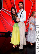 Купить «German RTL Live TV Show 'Let's Dance' at MMC Studios in Ossendorf. Featuring: Jimi Blue Ochsenknecht, Renata Lusin Where: Cologne, Germany When: 16 Mar 2018 Credit: WENN.com», фото № 29612481, снято 16 марта 2018 г. (c) age Fotostock / Фотобанк Лори