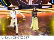 Купить «German RTL Live TV Show 'Let's Dance' at MMC Studios in Ossendorf. Featuring: Jimi Blue Ochsenknecht, Renata Lusin Where: Cologne, Germany When: 16 Mar 2018 Credit: WENN.com», фото № 29612597, снято 16 марта 2018 г. (c) age Fotostock / Фотобанк Лори