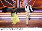 Купить «German RTL Live TV Show 'Let's Dance' at MMC Studios in Ossendorf. Featuring: Jimi Blue Ochsenknecht, Renata Lusin Where: Cologne, Germany When: 16 Mar 2018 Credit: WENN.com», фото № 29612613, снято 16 марта 2018 г. (c) age Fotostock / Фотобанк Лори