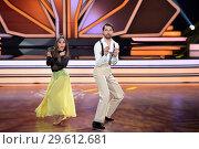 Купить «German RTL Live TV Show 'Let's Dance' at MMC Studios in Ossendorf. Featuring: Jimi Blue Ochsenknecht, Renata Lusin Where: Cologne, Germany When: 16 Mar 2018 Credit: WENN.com», фото № 29612681, снято 16 марта 2018 г. (c) age Fotostock / Фотобанк Лори