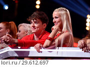 Купить «German RTL Live TV Show 'Let's Dance' at MMC Studios in Ossendorf. Featuring: Roman Lochmann (Die Lochis), Katja Kalugina Where: Cologne, Germany When: 16 Mar 2018 Credit: WENN.com», фото № 29612697, снято 16 марта 2018 г. (c) age Fotostock / Фотобанк Лори