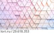 Купить «Abstract colorful digital background with mosaic triangles», иллюстрация № 29618353 (c) EugeneSergeev / Фотобанк Лори