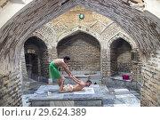 Купить «Hammam Bozori Kord, Bukhara, Uzbekistan.», фото № 29624389, снято 27 января 2020 г. (c) age Fotostock / Фотобанк Лори